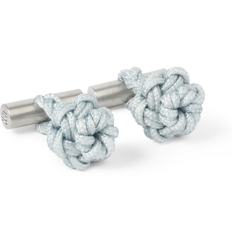 Alice Made This William Knotted Cord Cufflinks