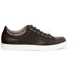 Gianvito Rossi Leather Low-Top Sneakers
