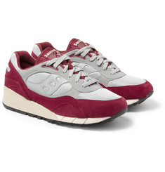 Saucony Shadow 6000 Suede and Mesh Sneakers