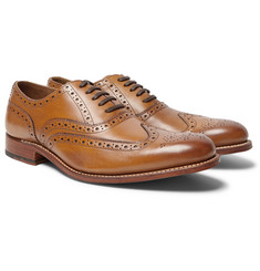 Grenson Dylan Leather Wingtip Brogues