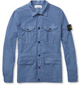 Stone Island Lightweight Cotton-Blend Jacket