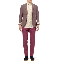 Slowear Incotex Slim-Fit Linen and Cotton-Blend Chinos