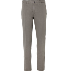 Slowear Incotex Slim-Fit Linen and Cotton-Blend Trousers