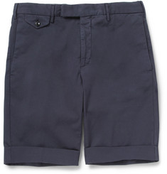 Incotex Slim-Fit Cotton-Blend Shorts