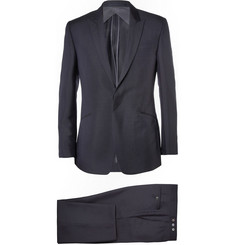 Kilgour Navy Mohair and Wool-Blend Suit