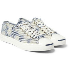 Converse Jack Purcell Striped Canvas Sneakers