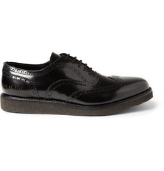Common Projects Crepe-Sole Leather Brogues