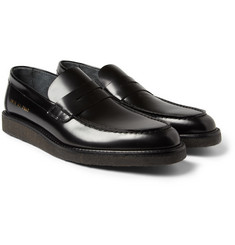 Common Projects Crepe-Sole Leather Loafers