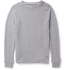 The Elder Statesman Thermal Cashmere Sweater