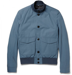 Hardy Amies Cotton Bomber Jacket