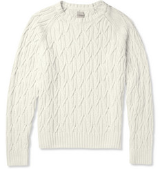 Hardy Amies Cable Knit Cotton Sweater