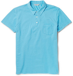 Hardy Amies Cotton-Piqué Polo Shirt