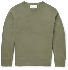 Our Legacy Garment-Dyed Loopback Cotton-Jersey Sweatshirt
