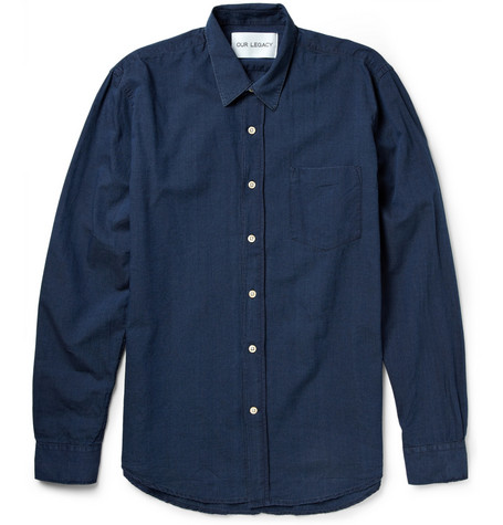 Our Legacy Washed-Denim Shirt