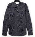 Our Legacy - Six Frame Dot-Print Cotton-Poplin Shirt