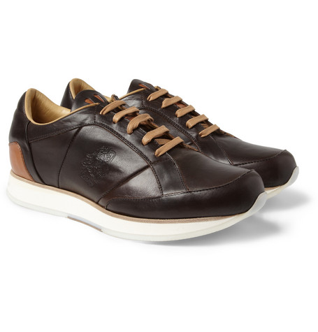 Mr. Hare Vonnegut Leather Sneakers