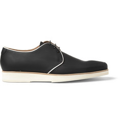 Mr. Hare King Tubby Rubberised-Leather Derby Shoes