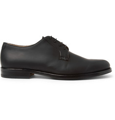 Mr. Hare Bernard Rubberised-Leather Derby Shoes