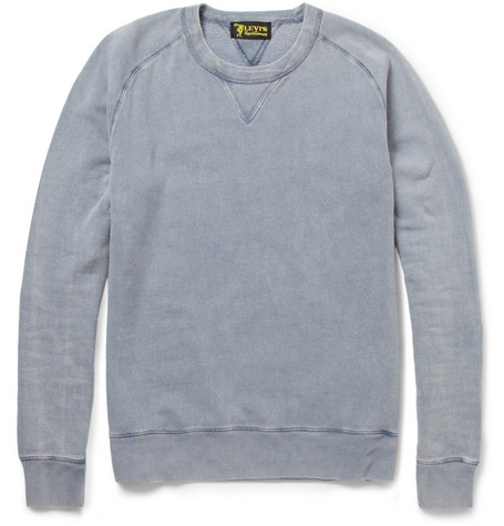 Levi's Vintage Clothing 1950's Crew Neck Cotton-Jersey Sweatshirt