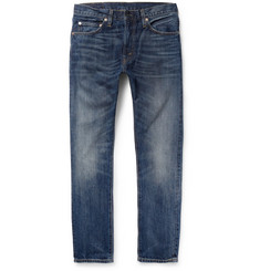 Levi's Vintage Clothing 1967 505 Slim-Fit Washed-Denim Jeans