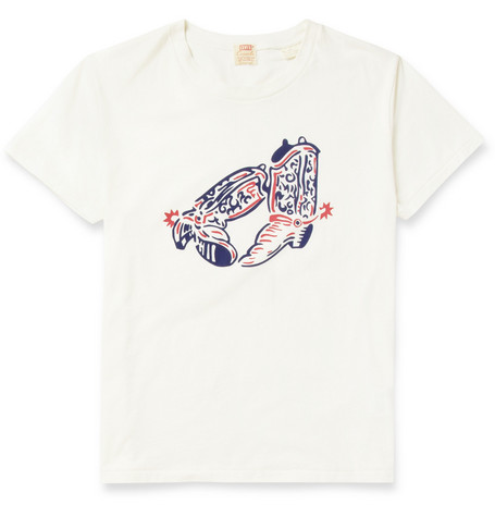 Levi's Vintage Clothing 1940s Printed Cotton-Jersey T-Shirt