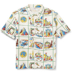 Levi's Vintage Clothing Printed Cotton and Linen-Blend Shirt