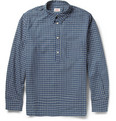 Levi's Vintage Clothing 1920s Check Half-Placket Cotton Shirt
