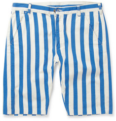 Levi's Vintage Clothing Striped Cotton-Twill Shorts