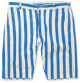 Levi's Vintage Clothing - Striped Cotton-Twill Shorts