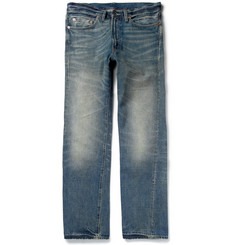 Levi's Vintage Clothing 1954 501 Cone Mills Washed-Denim Jeans