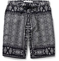 White Mountaineering Printed Cotton Shorts