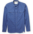 White Mountaineering - Polka-Dot Print Cotton Shirt