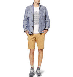 White Mountaineering Lightweight Twill and Chambray Jacket