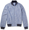 Gant Rugger Chambray Varsity Jacket