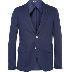 Gant Rugger Slim-Fit Linen and Cotton-Blend Suit Jacket