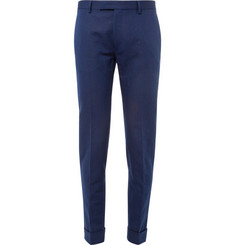 Gant Rugger Slim-Fit Linen and Cotton-Blend Suit Trousers
