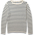 Gant Rugger Striped Knitted-Cotton Sweater