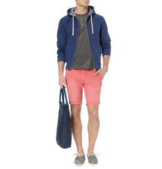 Gant Rugger Cotton-Blend Jersey Hoodie