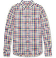 Gant Rugger - Check Cotton and Linen-Blend Shirt