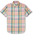 Gant Rugger - Button-Down Collar Madras-Check Shirt