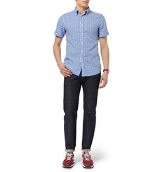 Gant Rugger Button-Down Collar Gingham Cotton Shirt