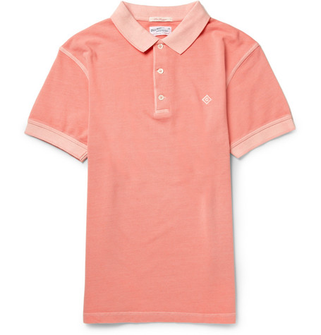 Gant Rugger Sun-Bleached Cotton-Piqué Polo Shirt