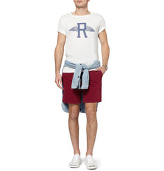 Gant Rugger Printed Cotton-Jersey T-Shirt