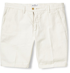 Gant Rugger Turn Up Cotton and Linen-Blend Shorts