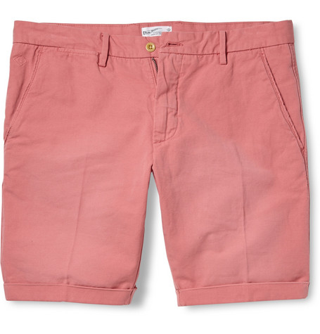 Gant Rugger Slim-Fit Cotton and Linen-Blend Shorts