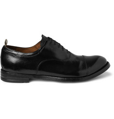 Officine Creative High-Shine Leather Oxford Shoes