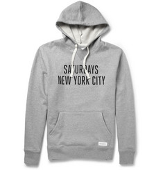 Saturdays Surf NYC Printed Loopback Cotton Hoodie