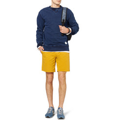 Saturdays Surf NYC Indigo-Dyed Loopback Cotton-Jersey Sweatshirt