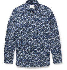 Saturdays Surf NYC Crosby Flower-Print Cotton Shirt