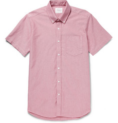 Saturdays Surf NYC Esquina Short-Sleeved Cotton Oxford Shirt